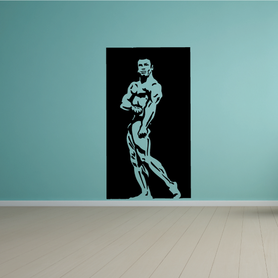 Fitness Wall Decal - Vinyl Decal - Car Decal - Bl135
