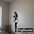 Woman Looking Back Pinup Decal
