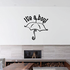 Baby Shower It is a Boy Umbrella Wall Decal