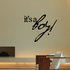 It is a Boy Wall Quote Decal