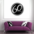 60 Years Celebration Decal