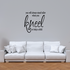 You will always stand taller when you kneel to help a child Wall Decal