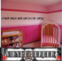 Stand back and watch me grow Wall Decal