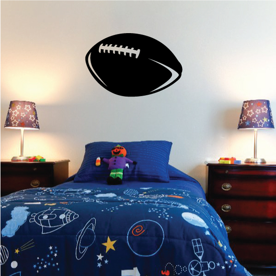 Sprial Football Decal