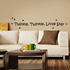 Twinkle Twinkle little star Wall Decal