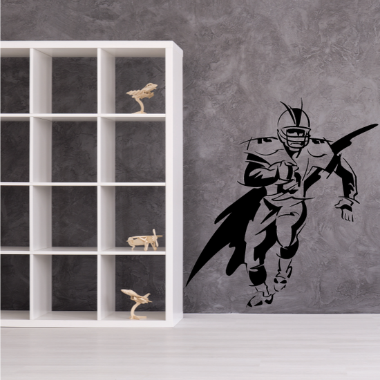 Football Wall Decal - Vinyl Decal - Car Decal - Bl022
