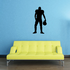 Football Wall Decal - Vinyl Decal - Car Decal - 001
