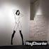 Topless Woman in Knee Highs Decal