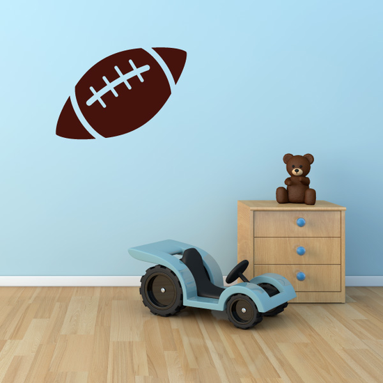 Football Wall Decal - Vinyl Decal - Car Decal - Id001