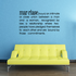 Marriage Definition Wall Decal