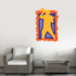 Football Player Wall Decal - Vinyl Sticker - Car Sticker - Die Cut Sticker - CDSCOLOR125