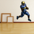 Football Player Wall Decal - Vinyl Sticker - Car Sticker - Die Cut Sticker - CDSCOLOR145