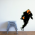 Football Player Wall Decal - Vinyl Sticker - Car Sticker - Die Cut Sticker - CDSCOLOR153