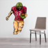 Football Player Wall Decal - Vinyl Sticker - Car Sticker - Die Cut Sticker - CDSCOLOR223
