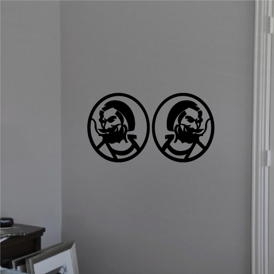 Joint Man Decal
