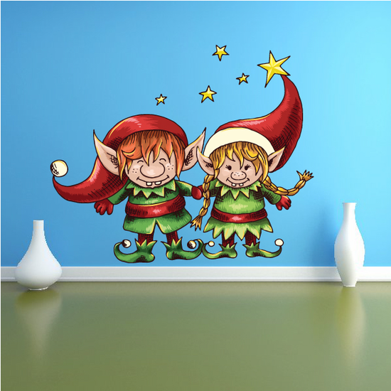 Christmas Elf Helpers Sticker