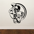 Football Wall Decal - Vinyl Decal - Car Decal - Bl010