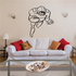 Football Wall Decal - Vinyl Decal - Car Decal - Bl024