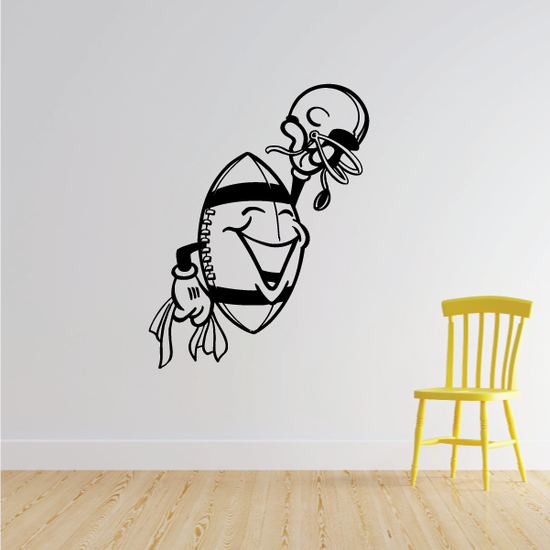 Football Wall Decal - Vinyl Decal - Car Decal - Bl060