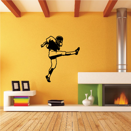 Football Wall Decal - Vinyl Decal - Car Decal - 022