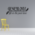 Genealogy life in the past lane Wall Decal
