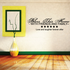 Bless this home with friends and family Wall Decal