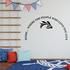 Home Where the people who love you live Wall Decal
