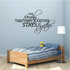 The Family that Prays together Wall Decal