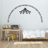 Let our Family Return home Wall Decal