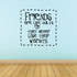 Friends are like quilts They Never Lose Their Warmth Wall Decal