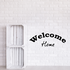 Welcome home Wall Decal