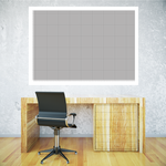 Dry Erase Graph with Grid Sticker