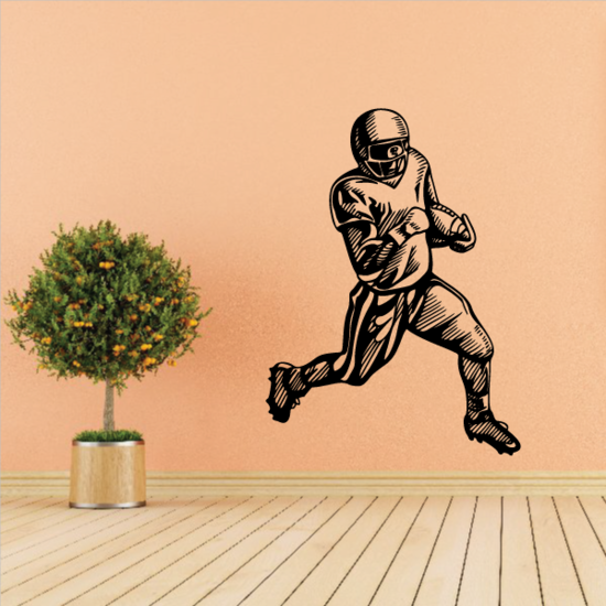Football Wall Decal - Vinyl Decal - Car Decal - CDS010