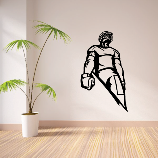 Football Wall Decal - Vinyl Decal - Car Decal - CDS036