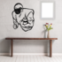Football Player Wall Decal - Vinyl Decal - Car Decal - CDS057