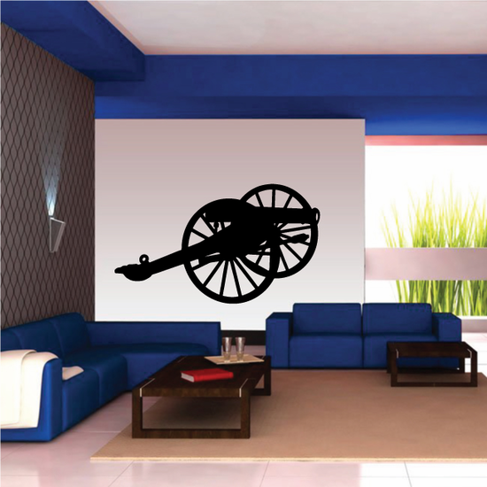 Six Pounder Cannon Decal