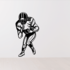 Football Player Wall Decal - Vinyl Decal - Car Decal - CDS172
