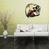 Bird Skull Wall Decal - Vinyl Car Sticker - Uscolor001