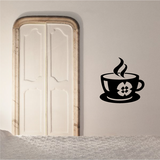 Hot Coffee Decal