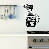 Brazilian Coffee Decal