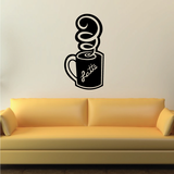 Latte Cup Decal
