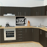 Industrial Cappuccino Maker Decal