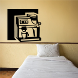 Cappuccino Maker Decal