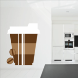 To Go Coffee Cup Sticker