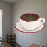 Coffee Wall Decal - Vinyl Decal - Car Decal - Idcolor021