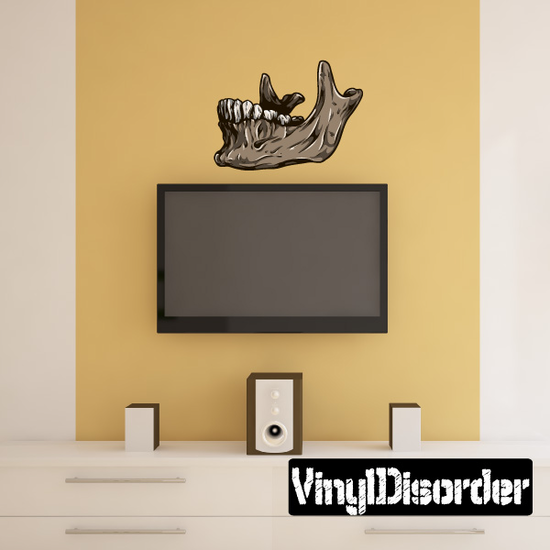 Skeleton Bone Wall Decal - Vinyl Car Sticker - Uscolor007