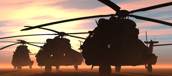 Military Helicopter Decals