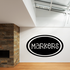 Markers Oval Decal