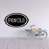 Pencils Oval Decal