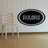 Rulers Oval Decal